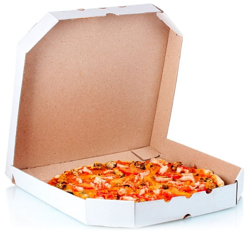 Правильная упаковка для пиццы - материал изготовления, свойства тары и ее внешний вид