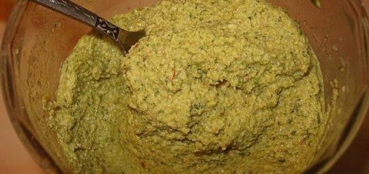 Соус песто с грецкими орехами (2)