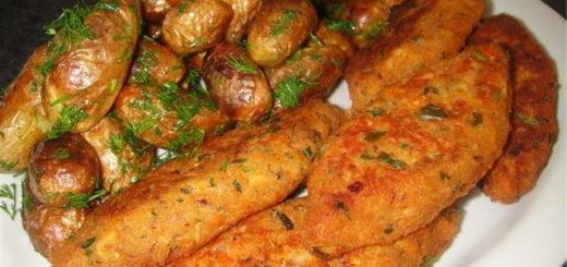 Вкусные котлеты из курицы с грибами (4)