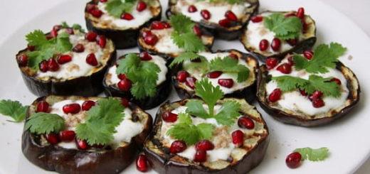 Жареные баклажаны с чесночным соусом (2)