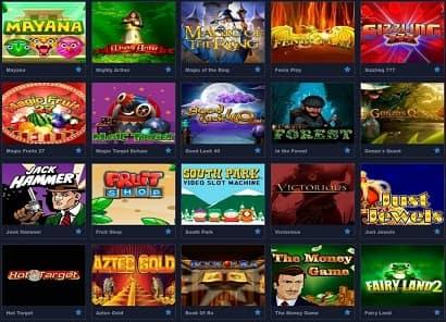 Graf Casino - портал для требовательных к качеству софта и сервиса игроков