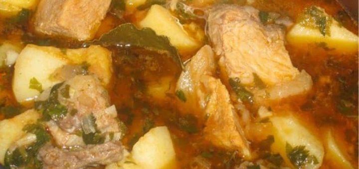 Соус из свинины по-грузински