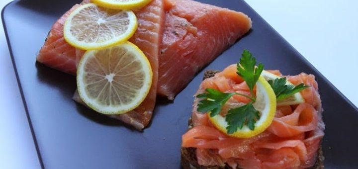 Гравлакс - маринованный лосось. Рецепт (1)
