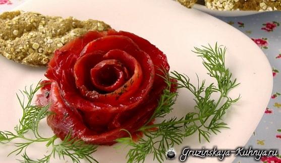 Красный гравлакс - рецепт маринованного лосося (2)
