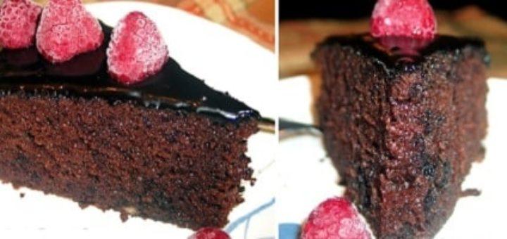Шоколадный торт «Куши»