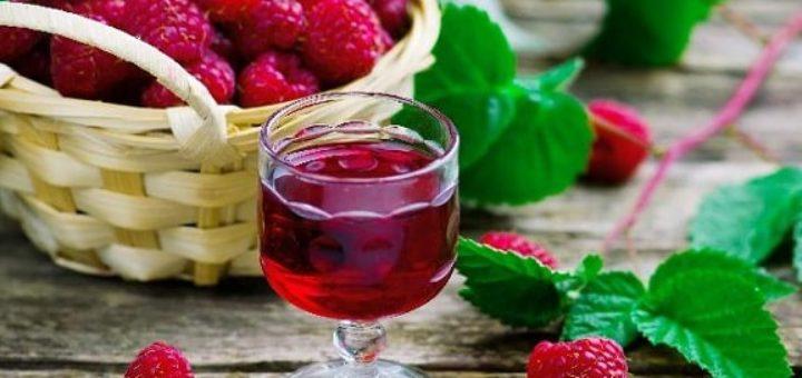 Рецепт малиновой настойки