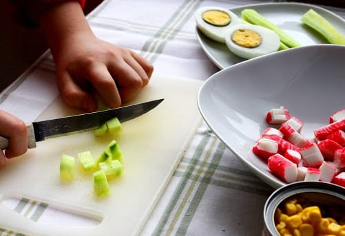 Салат из крабовых палочек (4)