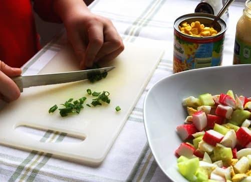Салат из крабовых палочек (6)