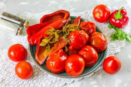 Соленые огурцы и помидоры от производителя оптом (3)