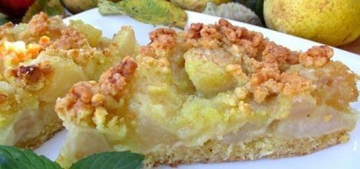 Яблочно-грушевый пирог. Вкусный рецепт (3)