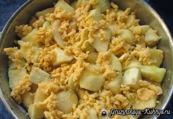 Яблочно-грушевый пирог. Вкусный рецепт (7)