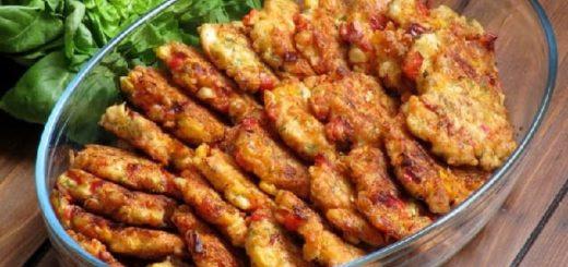 Куриные котлеты с сыром и кукурузой(5)