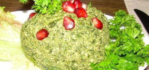 Рецепт приготовления пхали (2)