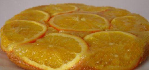 Апельсиновый кекс. Рецепт