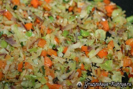 Чечевица с овощами по-грузински (3)