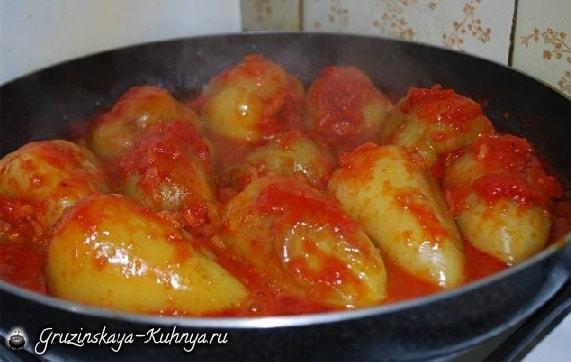Перец, фаршированный рисом и овощами (1)