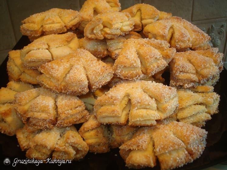Творожное печенье «Гусиные лапки» (1)