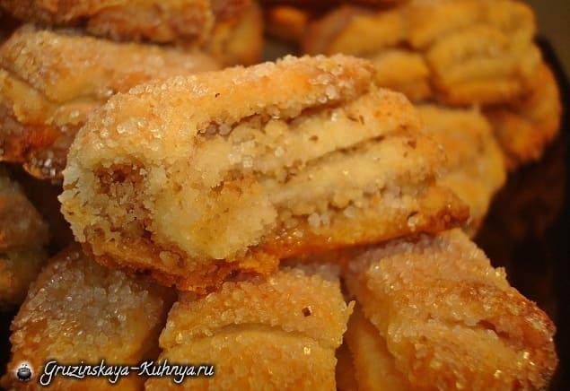 Творожное печенье «Гусиные лапки» (2)