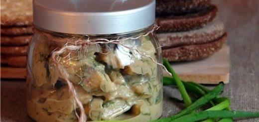 Сельдь в горчичном маринаде (2)