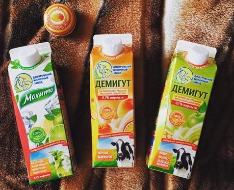 Сывороточный напиток «Демигут» Дмитровского молочного завода (2)