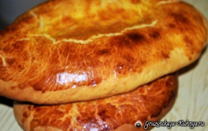 Назуки - рецепт сладкого грузинского хлеба