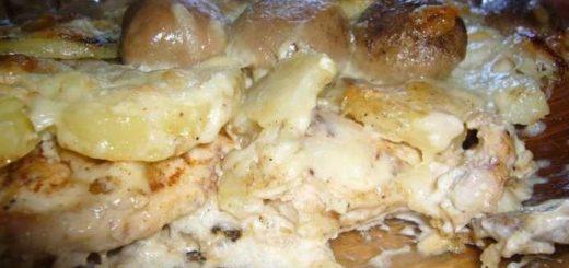 Рецепт грузинского блюда «Мадам Бовари» (1)