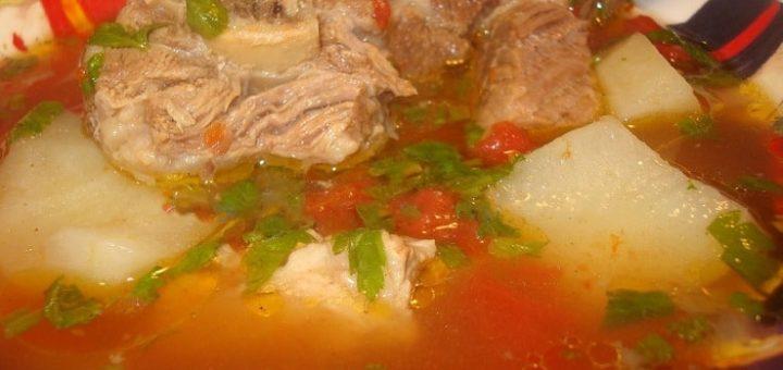 Соус из говядины по-грузински