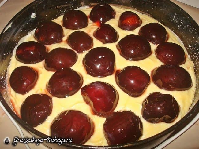 Сливовый пирог. Рецепт (1)
