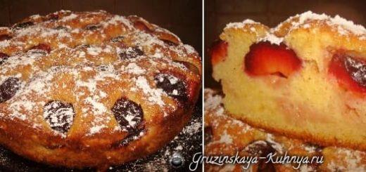 Сливовый пирог. Рецепт (3)