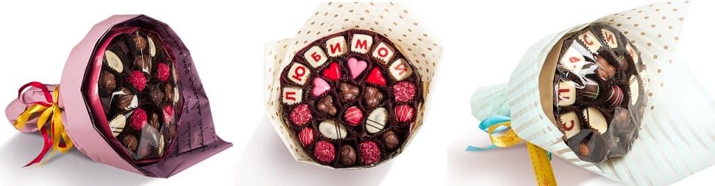 Оригинальные букеты из конфет - незабываемый подарок (1)
