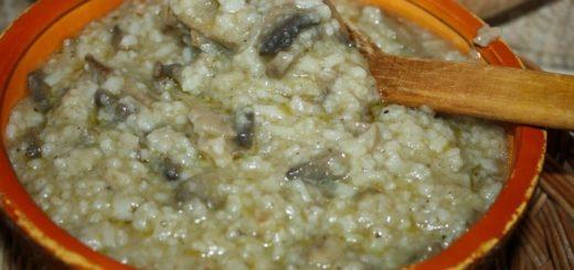 Шилаплави с грибами (2)