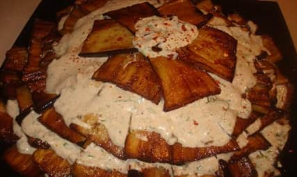 Закусочный торт из жареных баклажанов (2)