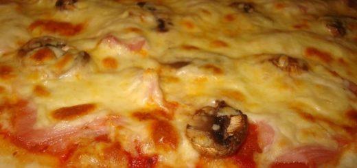 Рецепт нежного теста для пиццы