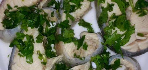 Рыба в киндзмари по-имеретински (1)