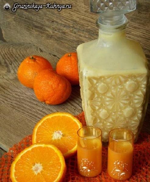 Апельсиновый ликер. Рецепт