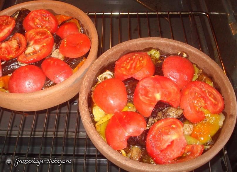 Чанахи из баранины в кеци (1)