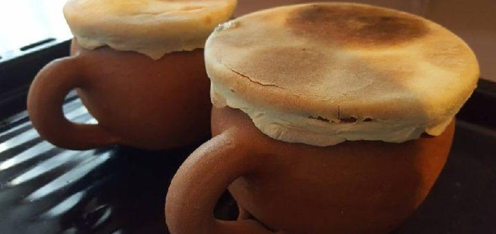 Вареники с грибами и сыром в горшочках (4)