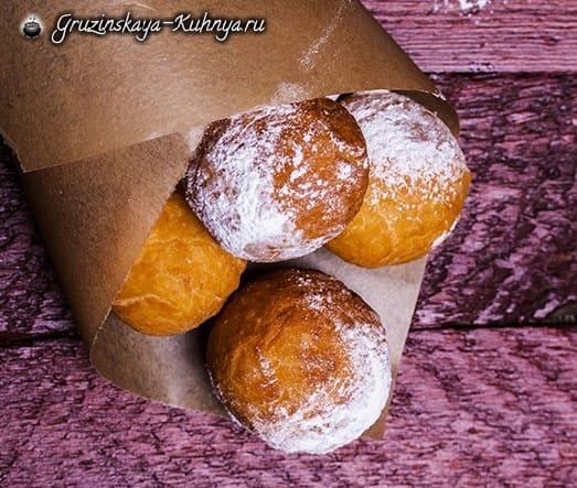 Творожные пончики. Рецепт (1)