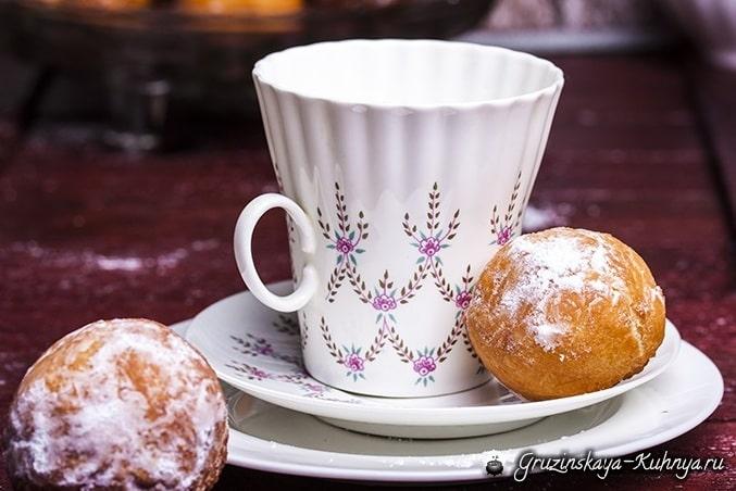 Творожные пончики. Рецепт (2)