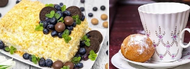 Творожные пончики и Медовик за 20 минут (2)