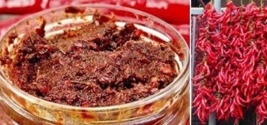 Абхазская аджика из сухого красного перца